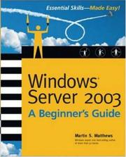 Cover of: Windows server 2003