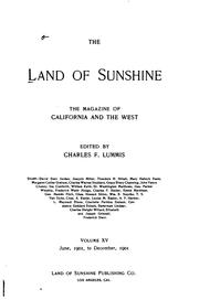 Cover of: The Land of Sunshine