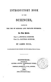 Cover of: Introductory book of the sciences