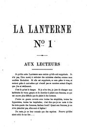 Cover of: La lanterne