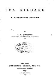 Cover of: Iva Kildare: A Matrimonial Problem