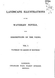 Cover of: Landscape Illustrations of the Waverley Novels: With Descriptions of the Views | John Martin