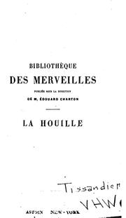 Cover of: La houille