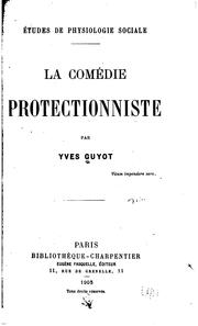 Cover of: La comédie protectionniste