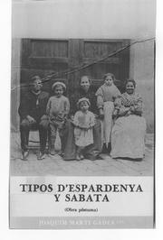 Cover of: Tipos d'espardenya y sabata