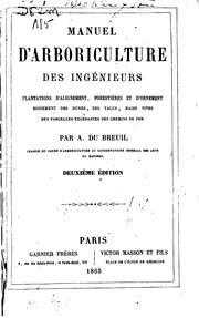 Cover of: Manuel d