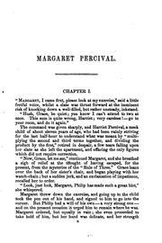 Cover of: Margaret Percival, by the author of 'Amy Herbert', ed. by W. Sewell | Elizabeth Missing Sewell