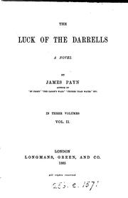 Cover of: the luck of the darrells: a novel