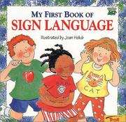 Cover of: My First Book of Sign Language