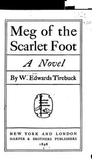Cover of: Meg of the Scarlet Foot: A Novel