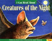 Cover of: I can read about creatures of the night | David Cutts