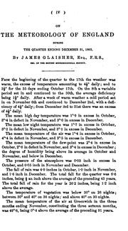 Cover of: The Meteorology of Enland