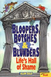 Cover of: Bloopers, Botches & Blunders | Allan Zullo