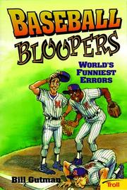Cover of: Baseball bloopers