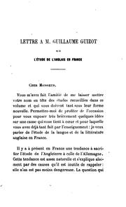 Cover of: Litterature Anglaise