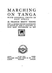 Cover of: Marching on Tanga: (with General Smuts in East Africa)