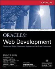 Cover of: Oracle9i Web Development | Brad Brown