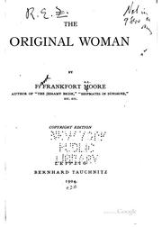 Cover of: The Original Woman