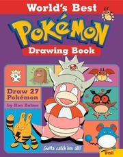 Cover of: World'S Best Pokemon Drawing Book | Ron Zalme