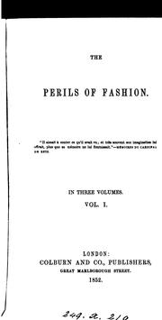 Cover of: The perils of fashion
