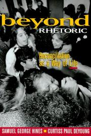 Cover of: Beyond rhetoric