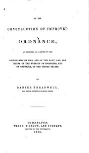 Cover of: On the Construction of Improved Ordinance