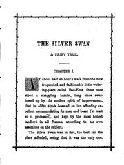 Cover of: The silver swan: A Fairy Tale