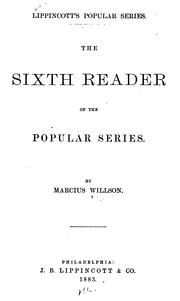 Cover of: The Sixth Reader of the Popular Series
