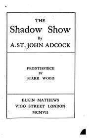 Cover of: The Shadow Show