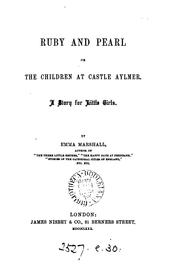 Cover of: Ruby and Pearl; or, The children at Castle Aylmer