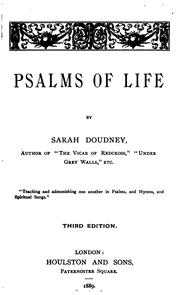 Cover of: Psalms of Life