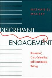 Cover of: Discrepant engagement | Nathaniel Mackey