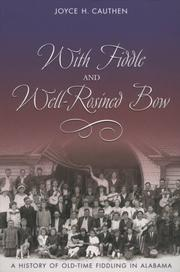 Cover of: With Fiddle and Well-Rosined Bow | Joyce Cauthen