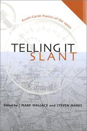 Cover of: Telling It Slant
