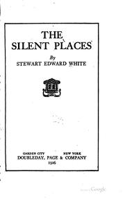 Cover of: The Silent Places: A Story