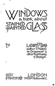 Cover of: Windows: A Book about Stained & Painted Glass
