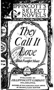 Cover of: They Call it Love