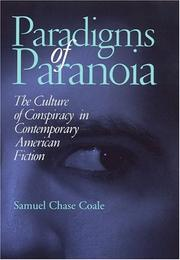 Cover of: Paradigms of paranoia