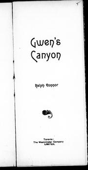 Cover of: Gwen's canyon
