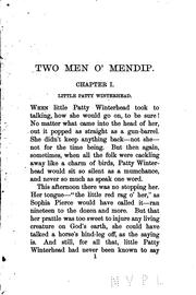 Cover of: Two Men O' Mendip