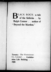 Cover of: Black rock