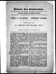Cover of: Guerre du sud-africain, contingents canadiens