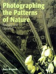Cover of: Photographing the patterns of nature