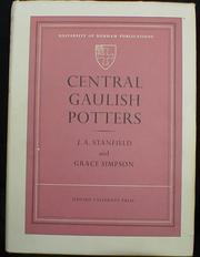 Cover of: Central Gaulish potters