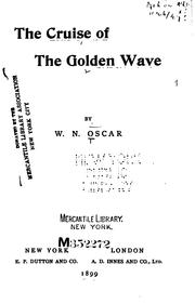 Cover of: The Cruise of the Golden Wave |