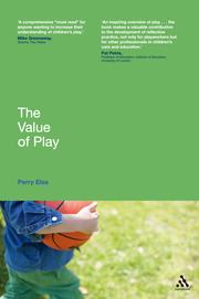 Cover of: value of play | Perry Else