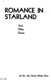 Cover of: Romance in Starland, and Other Stories |