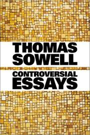 Cover of: Controversial essays