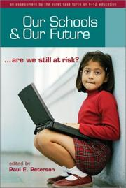 Cover of: Our Schools and Our Future | Paul E. Peterson