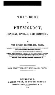 Cover of: Text-book of Physiology: General, Special and Practical